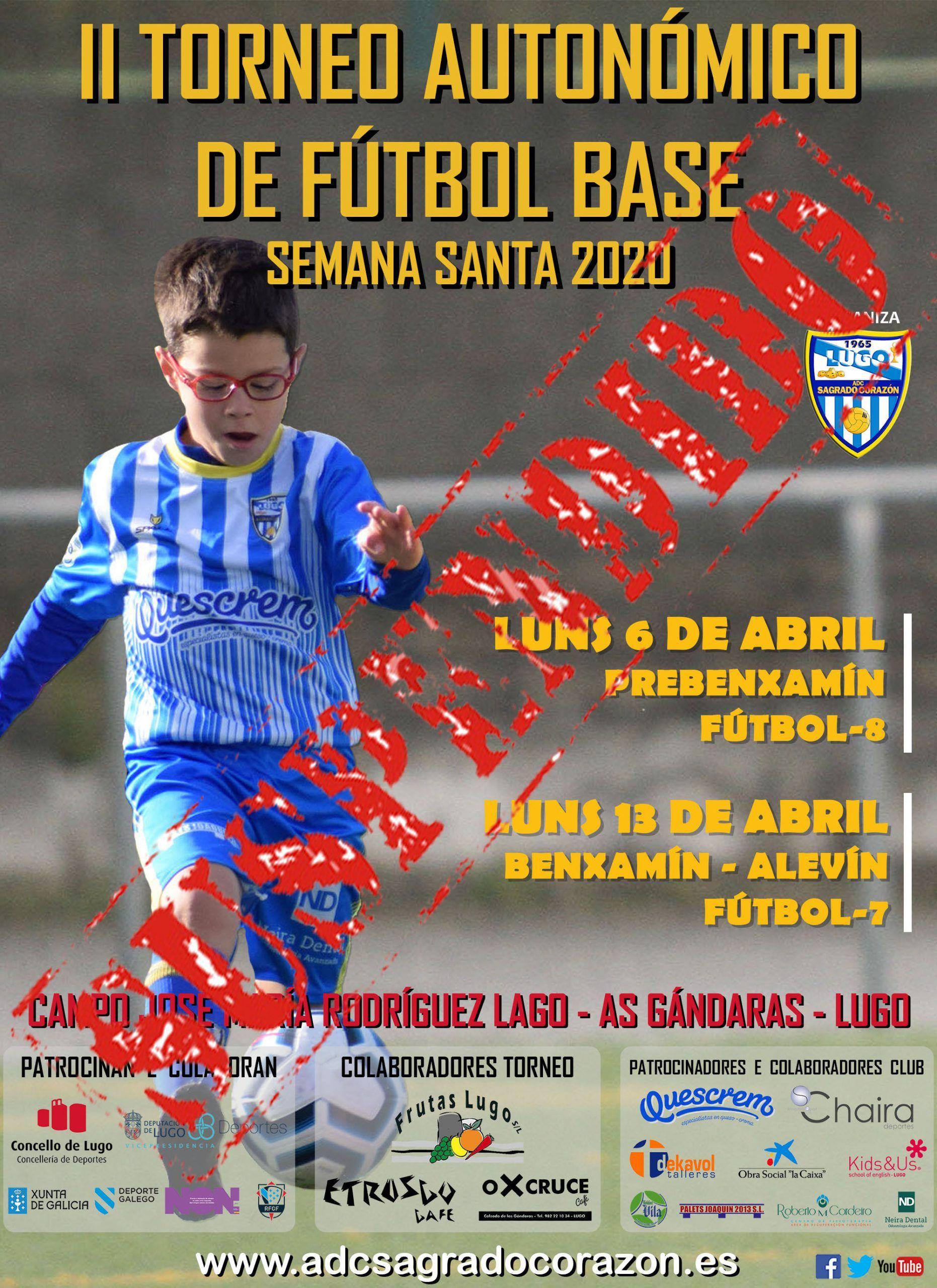 Suspendido el II Torneo Autonómico de fútbol base de Semana Santa