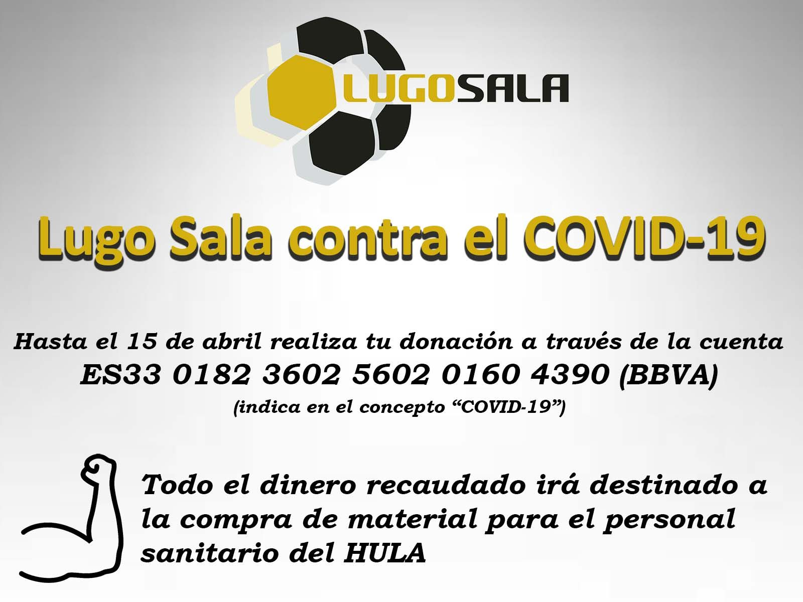 Nos sumamos a la campaña de Lugo Sala: todos juntos somos más fuertes contra el COVID-19