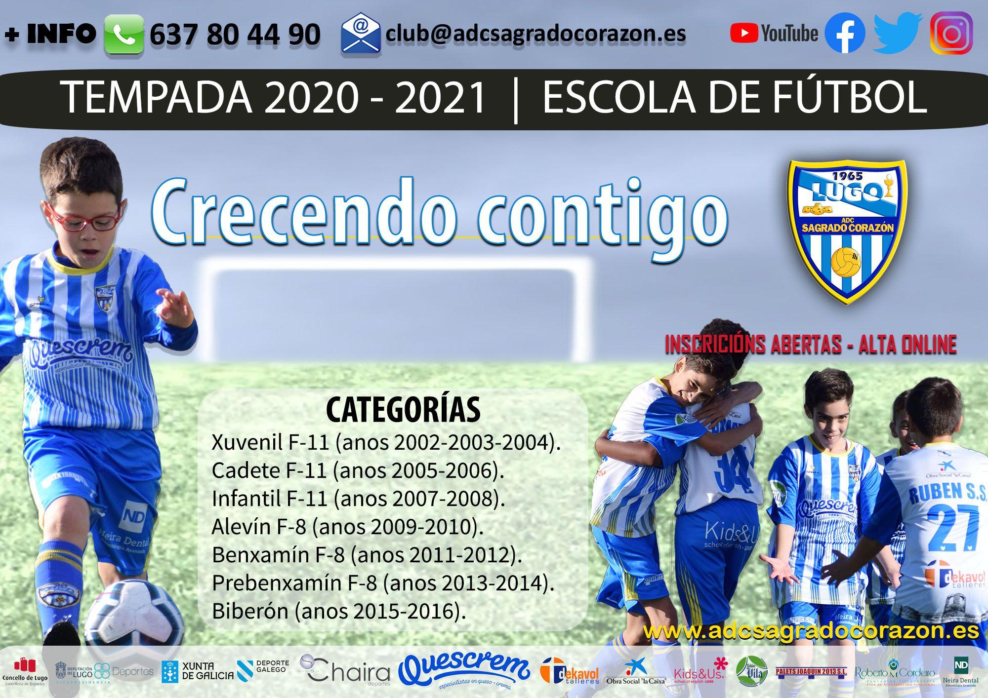 Abierto el periodo de altas en el club para la temporada 2020/2021